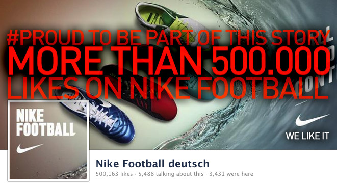 Nike Football on Facebook
